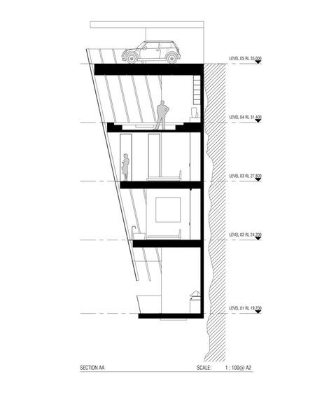 崖に作った家、クリフハウス (1)