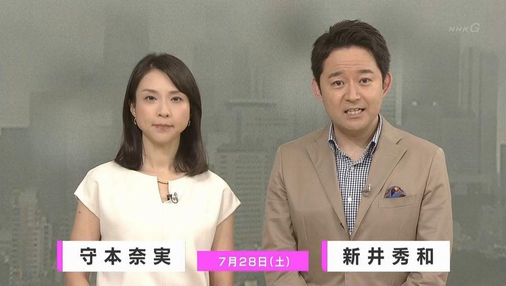 守 本 奈実 アナウンサー NHK寺門亜衣子アナ 「シブ5時」卒業
