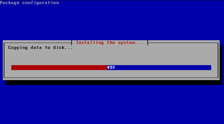 04 turnkey linux redmine install progress