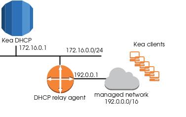 kea dhcp network model