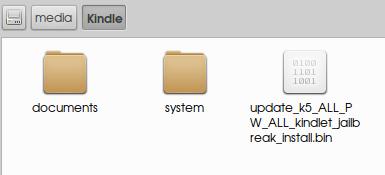 copy kindle update bin