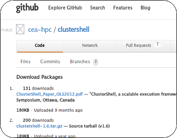 download - clustershell from github