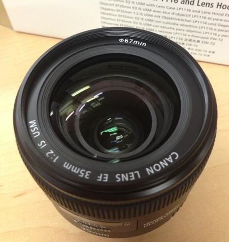 04 EF 35mm f2 IS USM レンズ本体