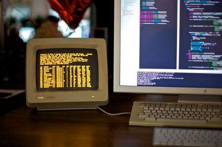 vt220 serial console set p as a terminal