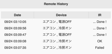 Remote History