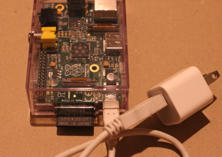 Raspberry Pi set power
