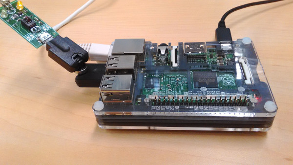 irMagicanT connected to Raspberry Pi 2