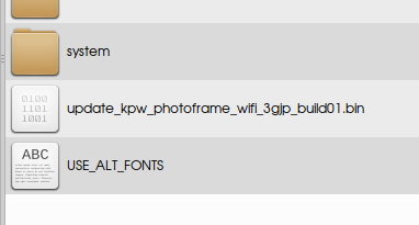 copy update bin to kindle