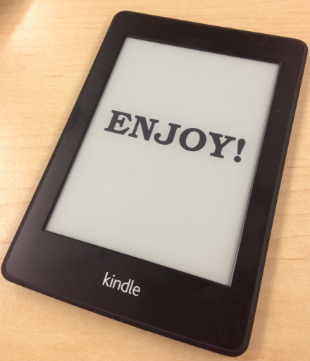 enjoy kindle custom screensaver
