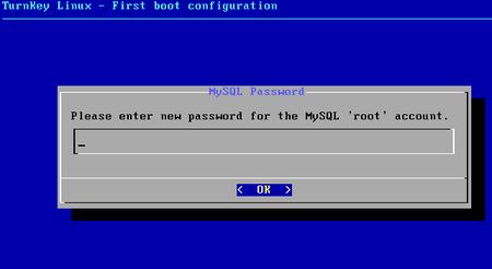06 turnkey linux redmine mysql password