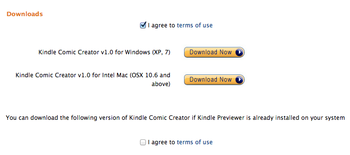 download kindle comic creater