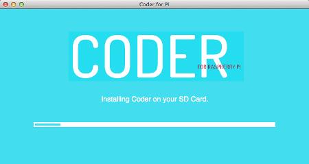 06 coder setup - install progress