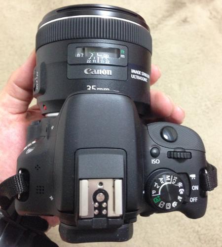 06 EF 35mm f2 IS USM レンズをEOS Kiss X7に装着