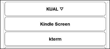 kscreen KUAL menu