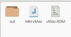build vmac 03 - output binalry file
