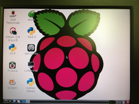 Raspberry Pi after startx