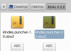 KindleLauncher azw2
