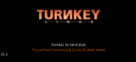01 turnkey linux redmine start installer