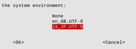 Raspberry Pi  change default locale