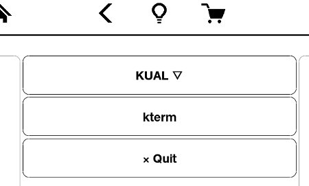 05 kindle KUAL menu