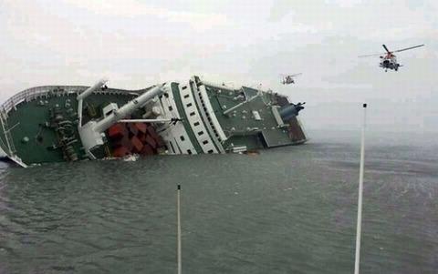 セウォル号沈没