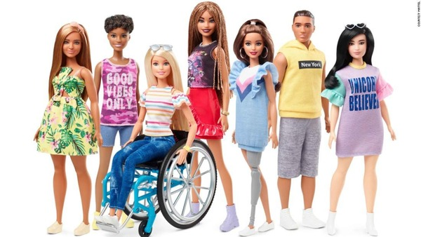 【玩具】バービー人形に車いすや義足のキャラクターが登場 障害を持った人々は「何も悪くない」、美しさの多様性広げる