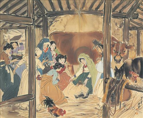 89c40755 キリストは韓国人?話題となっている聖画の真相。