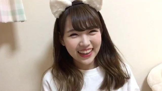 NMB48 植村梓のお悩み相談室配信、ネコ耳あずにゃんが可愛いと評判に