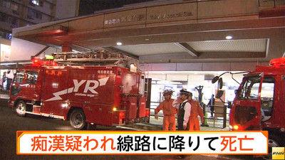 田園都市線・青葉台駅で人身事故、痴漢を疑われた男の末路が…(画像あり)