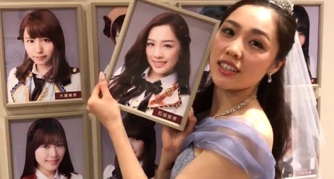 SKE48石田安奈の壁写真外し、卒業公演オフショット【動画+画像24枚】