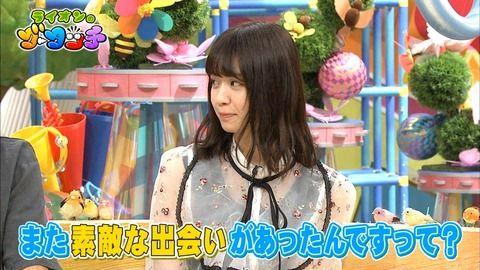 【朗報】西野七瀬が素敵な出会いがあったことを語る「スタジオに遊びに来てほしい」