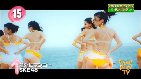 CDTVでSKE48「意外にマンゴー」が一瞬だけど映ったーーー 【15位↑】