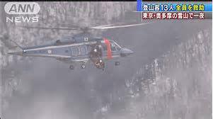 【なんでそうなる】中国人「雪降ってるけど大丈夫だろ」→ 奥 多 摩 1 3 人 遭 難 事 故
