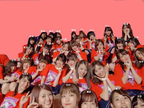 【乃木坂46】全ツ@仙台『集合写真』全メンバーに名前を振った画像がこちら…!