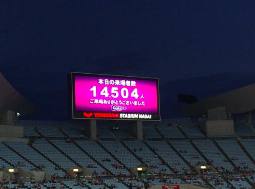 【悲報】C大阪×セビージャ戦 来場者数がヤバい!集客失敗…