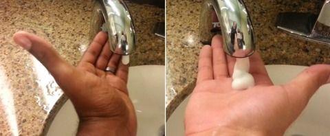 黒人さん、トイレ洗面所のセンサーに手をかざした結果wwwwww(画像あり)