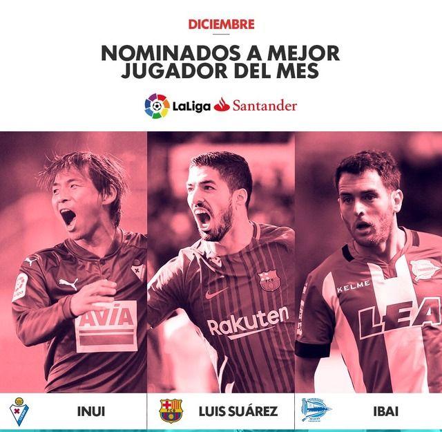 ◆朗報◆エイバル乾貴士、リーガ12月月間MVP最終候補の3名に選出!4試合で3G
