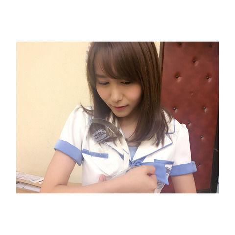 SKE48大場美奈「26位 28,554票 スピーチでは悔しさとショックが先走ってしまったけど、この結果は本当にすごい順位を頂けたって思ってます。」