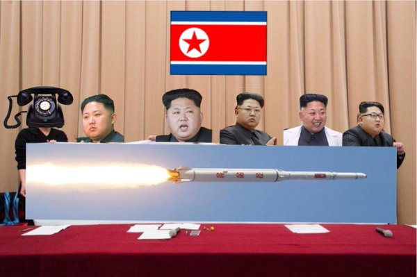 北朝鮮,ミサイル