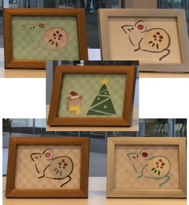彫紙アート体験行いました!