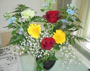 お花を使ったカウンセリング