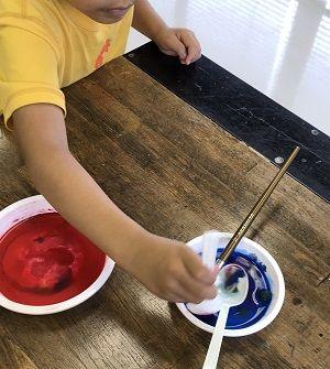 新たな技法が生まれるアート教室?!