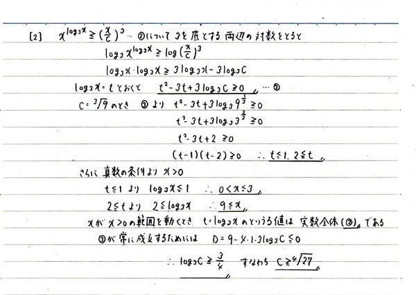 センター試験(2018年)数学ⅡB②