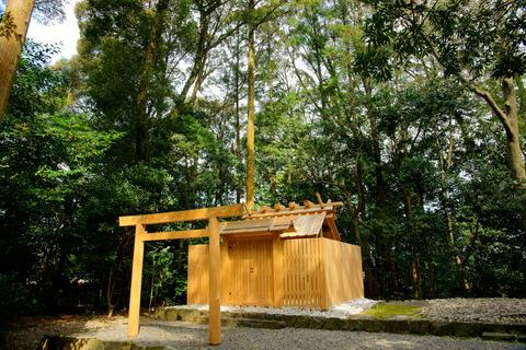 クチラ神社 社殿