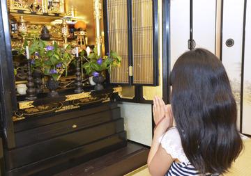 仏壇 女の子