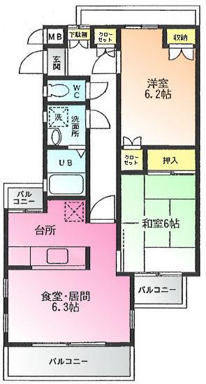 グランデージ鶴川302