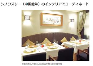 テーブルコーディネートの素敵なレストラン