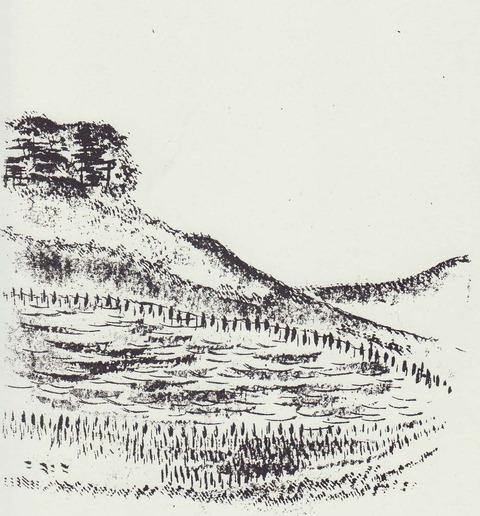 山ずみの神ある丘(山神社)