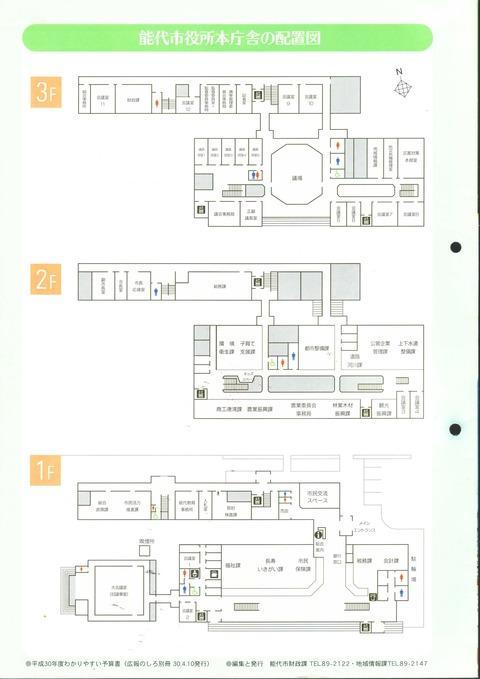 予算書の配置図
