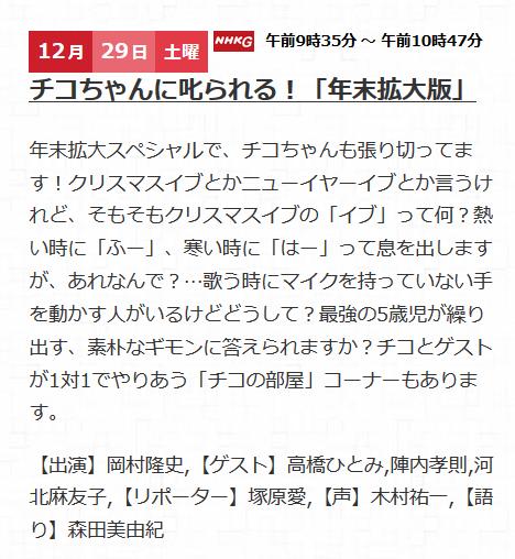 1222チコちゃん